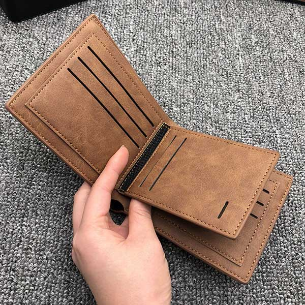 Vintage Soft Leather Trifold Wallet